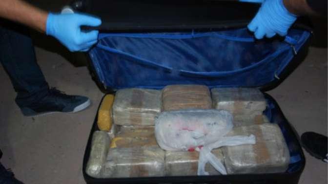 10 kilo 380 gram eroinle yakalandı