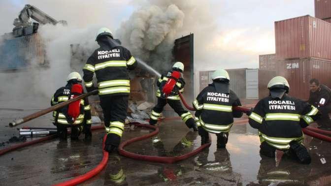 3 bin 259 yangına müdahale