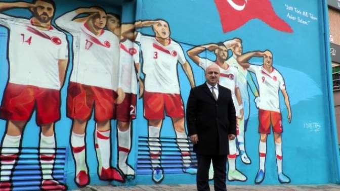 Asker selamı Kocaelide ölümsüzleştirildi