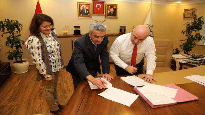Belediye ile Tapu protokol imzaladı