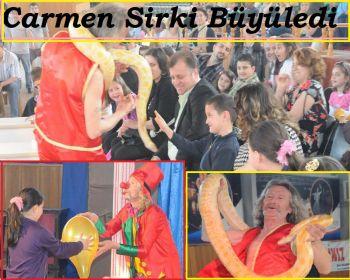 Carmen Sirki Büyüledi