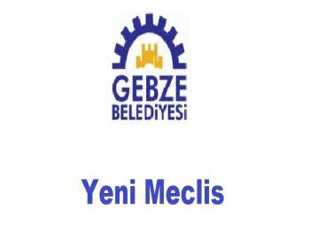 Gebze Belediyesi Yeni Meclis