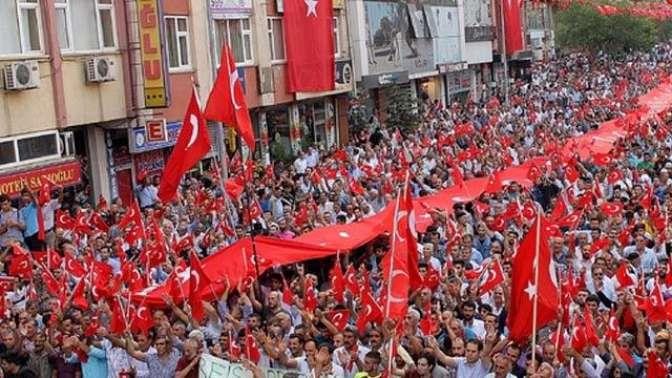 Gösteri yürüyüşleri ve toplantılar geçici olarak yasaklandı