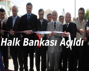 Halk Bankası resmen açıldı