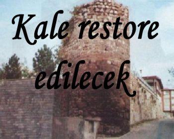 Kale restore ediliyor, Teleferik geliyor