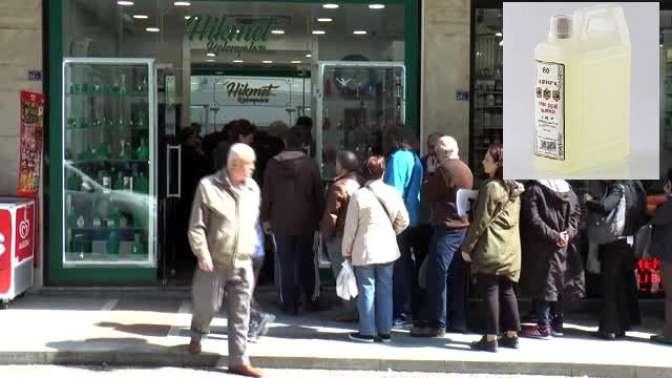 Kolonya satışları arttı