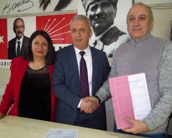 Özcan CHP'den meclis üyesi adayı oldu