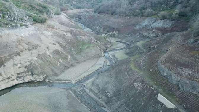Su seviyesi yüzde 14e düştü