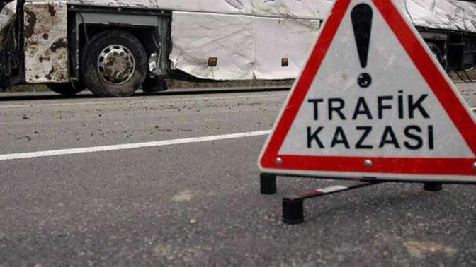 Trafik kazası: 2'si ağır 11 yaralı