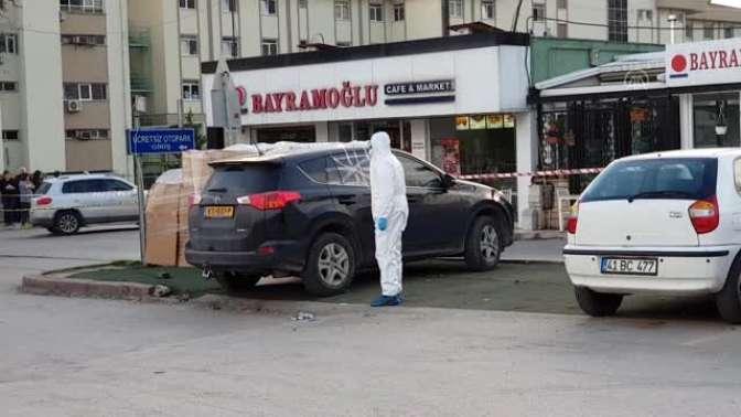 Yabancı plakalı araçta bir kişi ölü bulundu