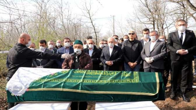 Kılıçdaroğlu kardeşinin cenazesine katıldı